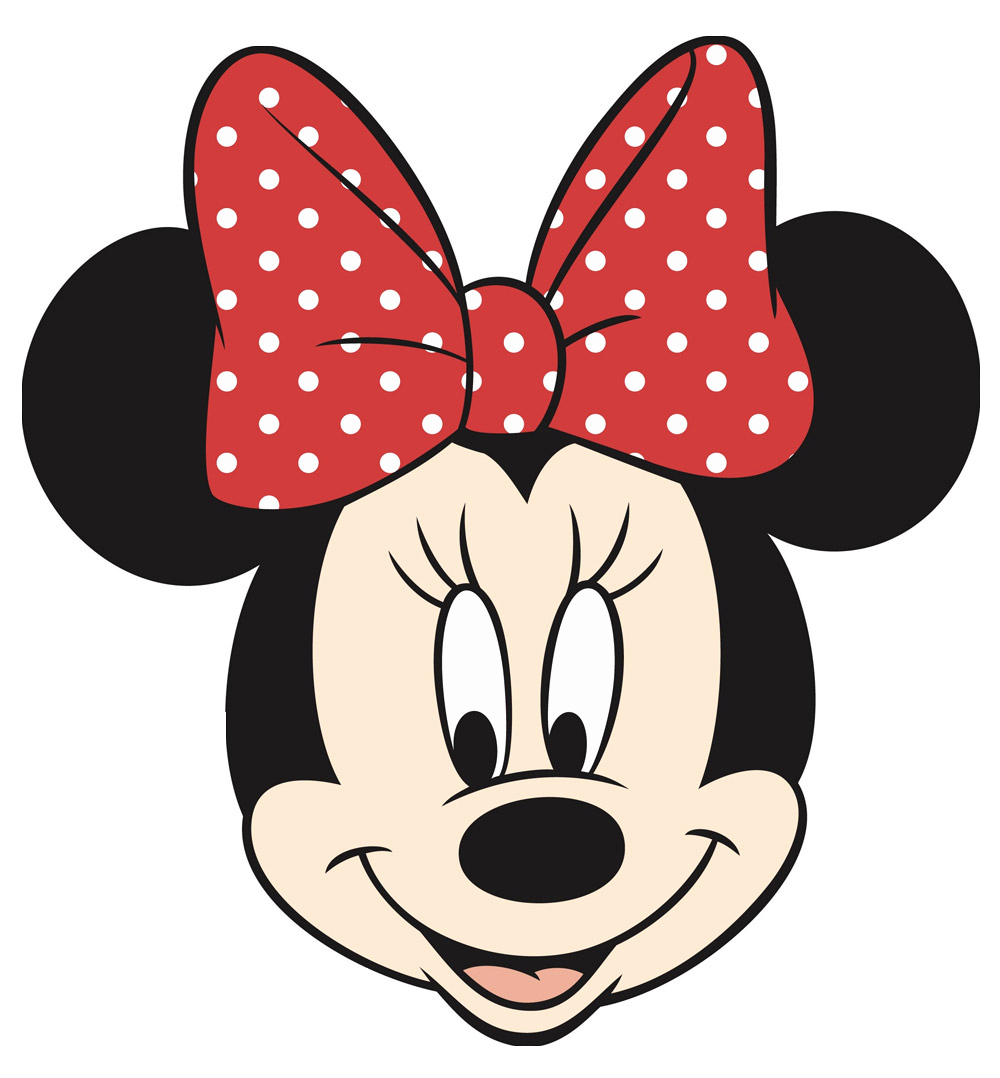 minnie mouse head cut out