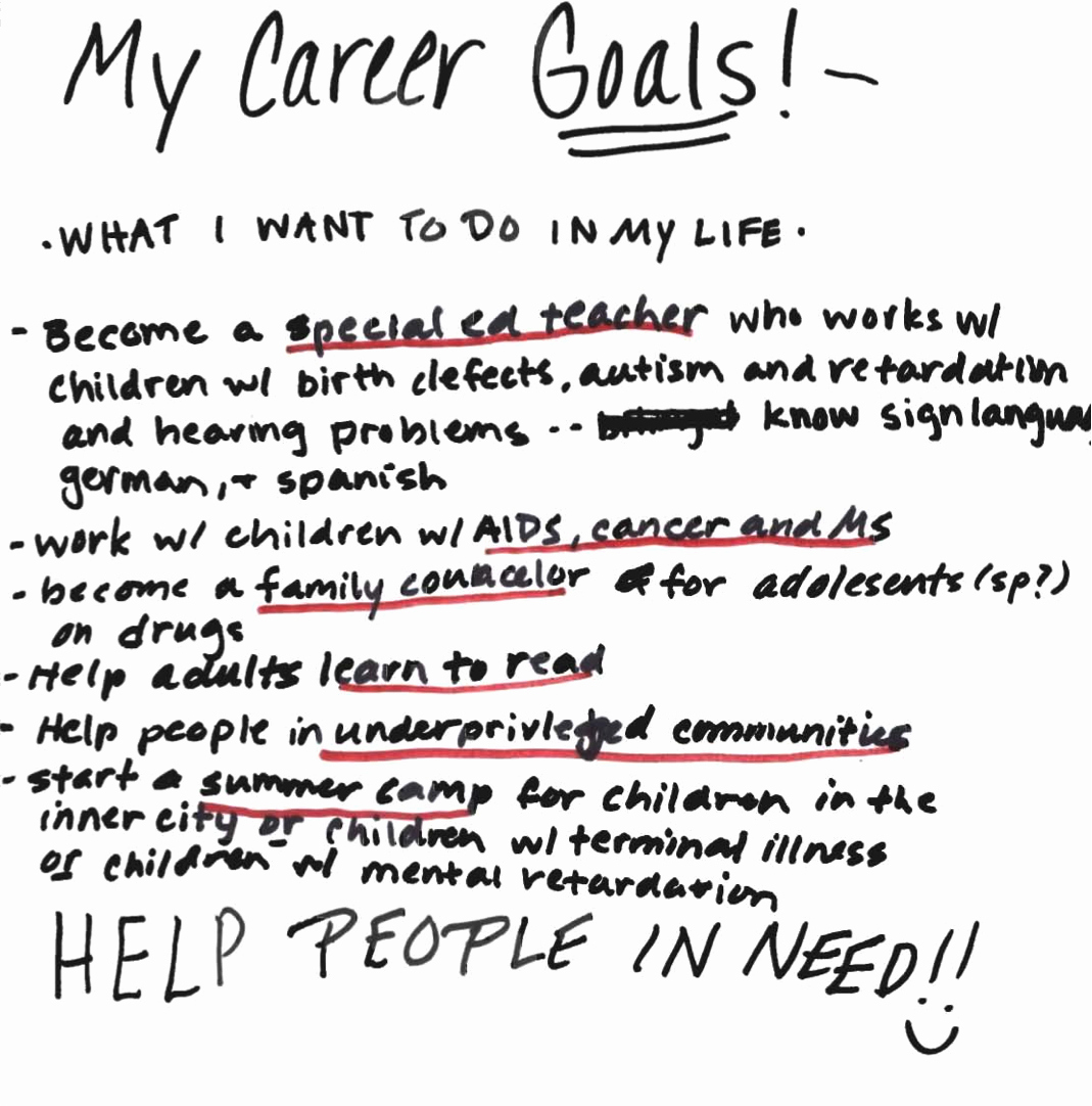 My Goals In Life Paragraph New How to Write A Paper On My Goals Illustrationessays Web