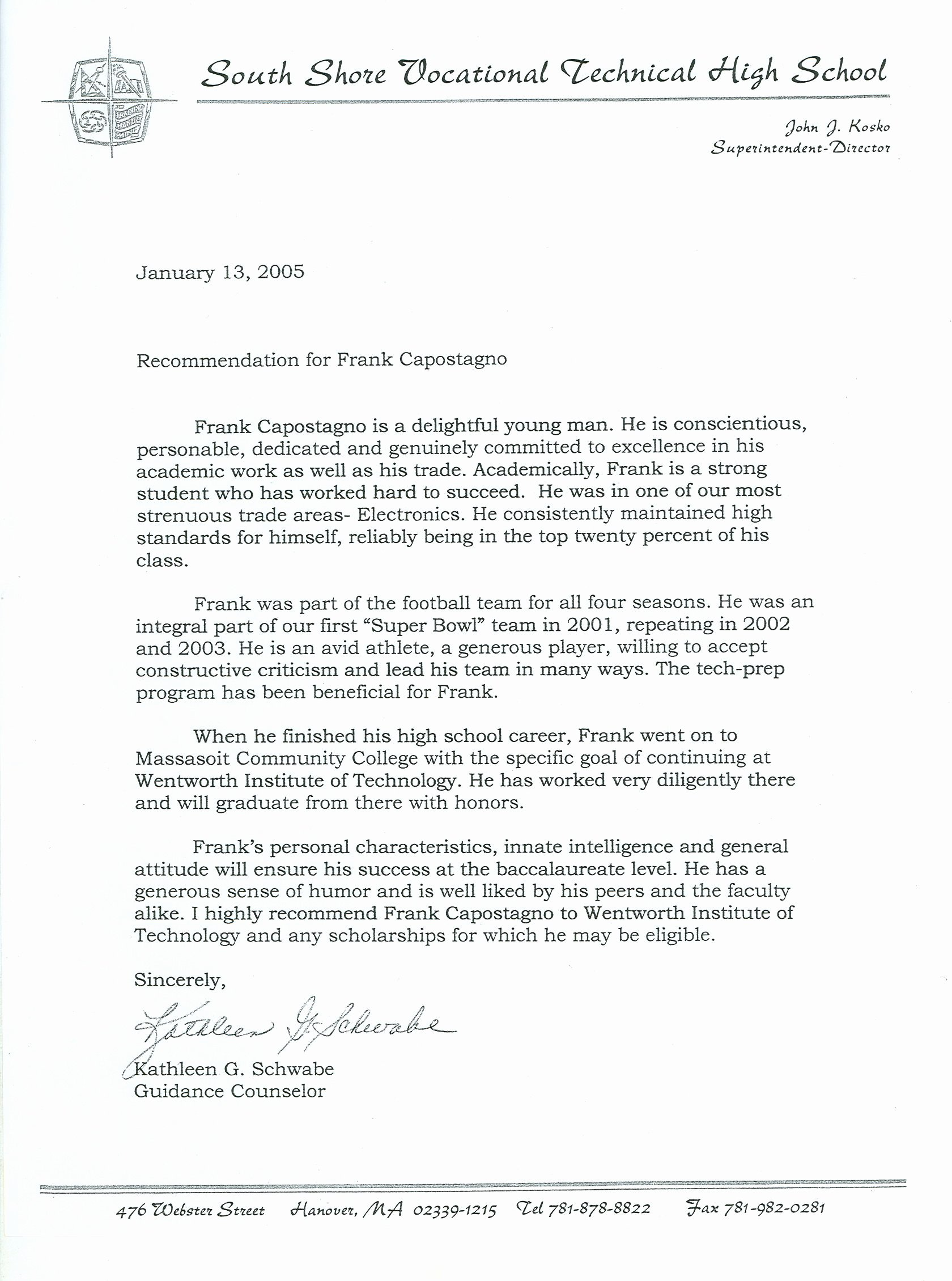 National Honor society Application Examples New Re Mendation Letter Samples for High School Students
