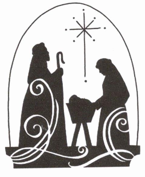 Nativity Scene Silhouette Pattern Free Fresh Christmas Jesus Nativity Scene Cross Stitch Pattern