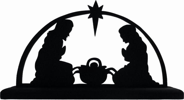 Nativity Scene Silhouette Pattern Free Inspirational Nativity Scene Silhouette Vinyl