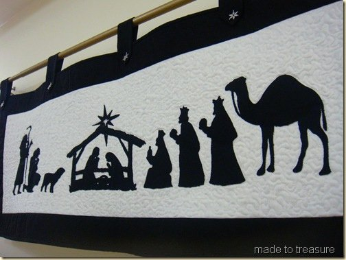 Nativity Scene Silhouette Pattern Free Unique Made to Treasure Playing with Silhouettes… Make A