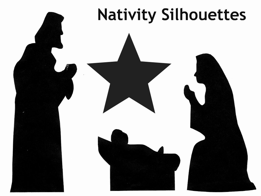 Nativity Scene Silhouette Printable Unique Family Advent Calendar Day 12 Make A Shadow Puppet