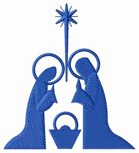 Nativity Silhouette Patterns Download Fresh Christianity Embroidery Design Nativity Silhouette From