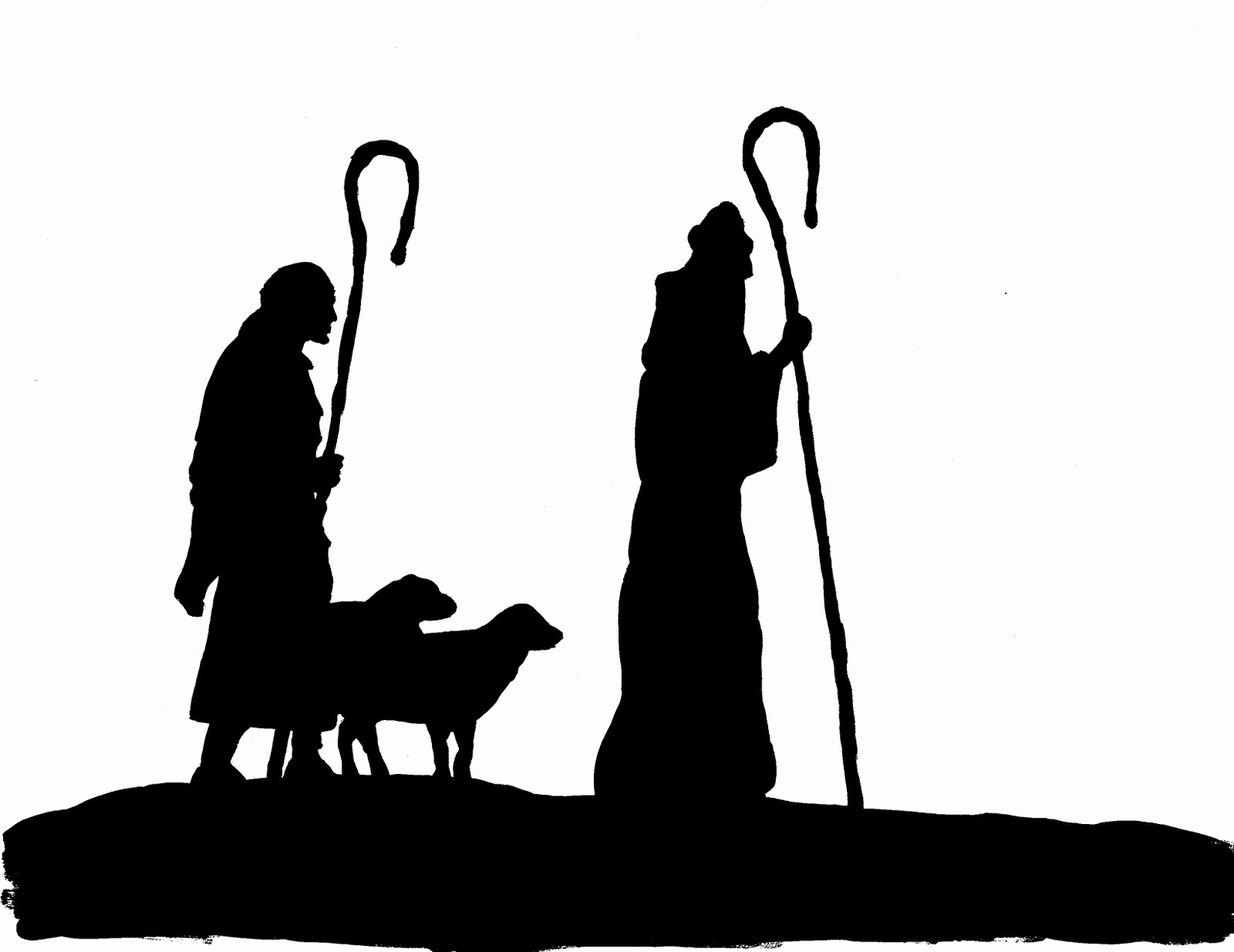 Nativity Silhouette Printable Awesome You Seriously Made that now You too Can Trace Your