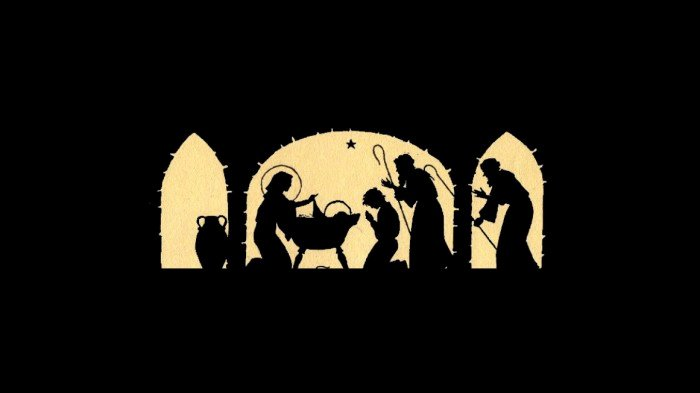 Nativity Silhouette Printable Elegant Nativity Silhouette Candle Holder 12 Days Of Christmas