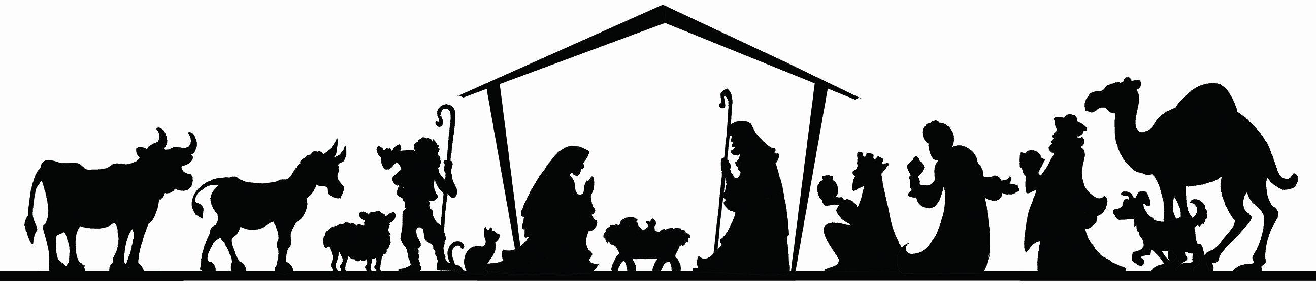 diy nativity board