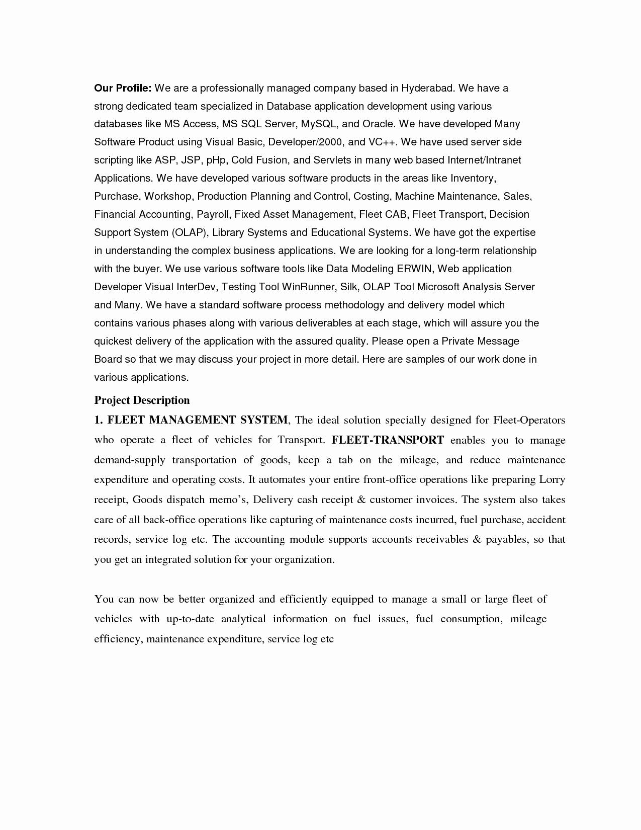 post sales introduction letter