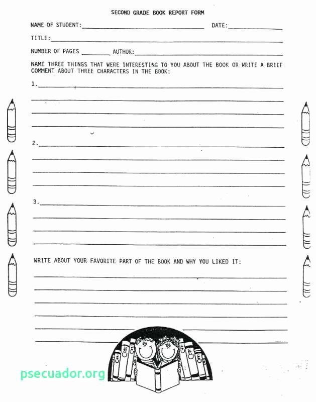 Nonfiction Book Report Template Inspirational Bookreport Engneeuforicco – Grade 3 Book
