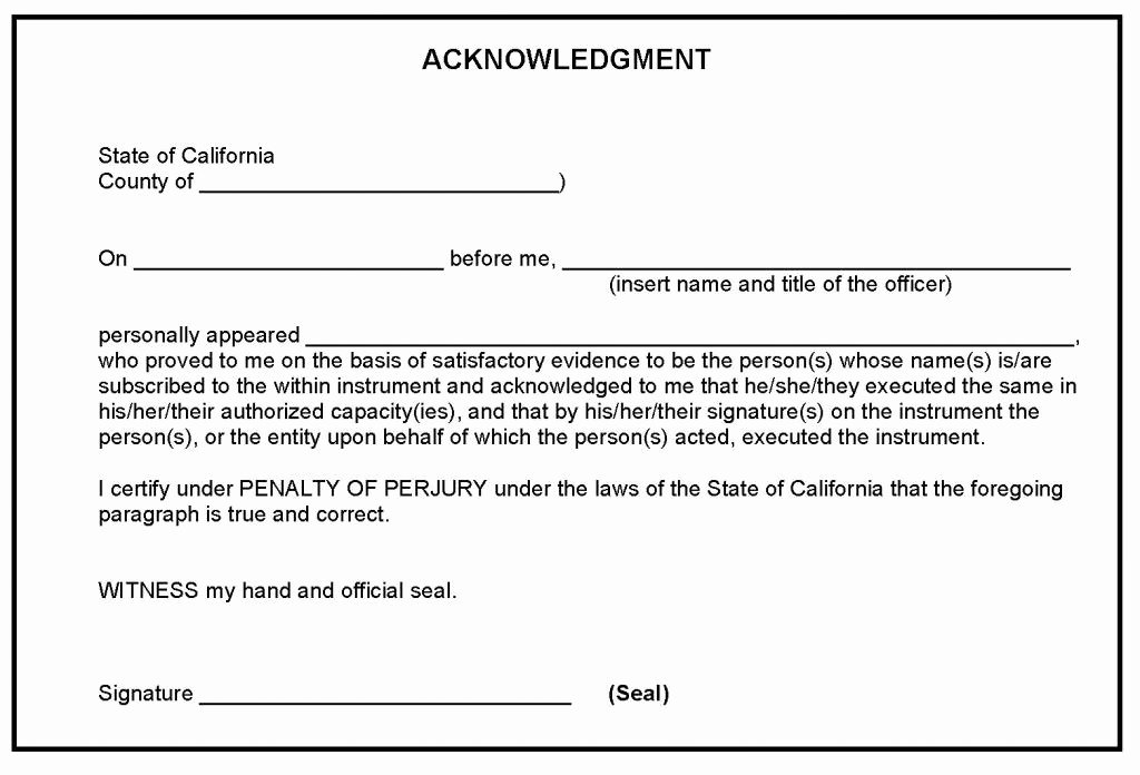 Notary Public Signature Line Template Awesome Notarization Procedure