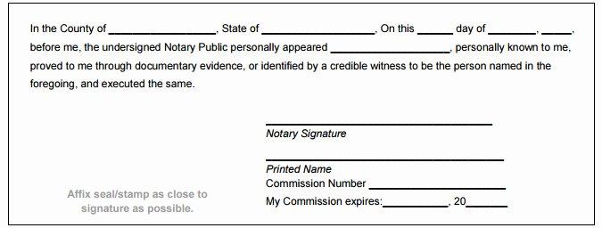 Notary Public Signature Line Template Fresh Montana Notary Public Handbook