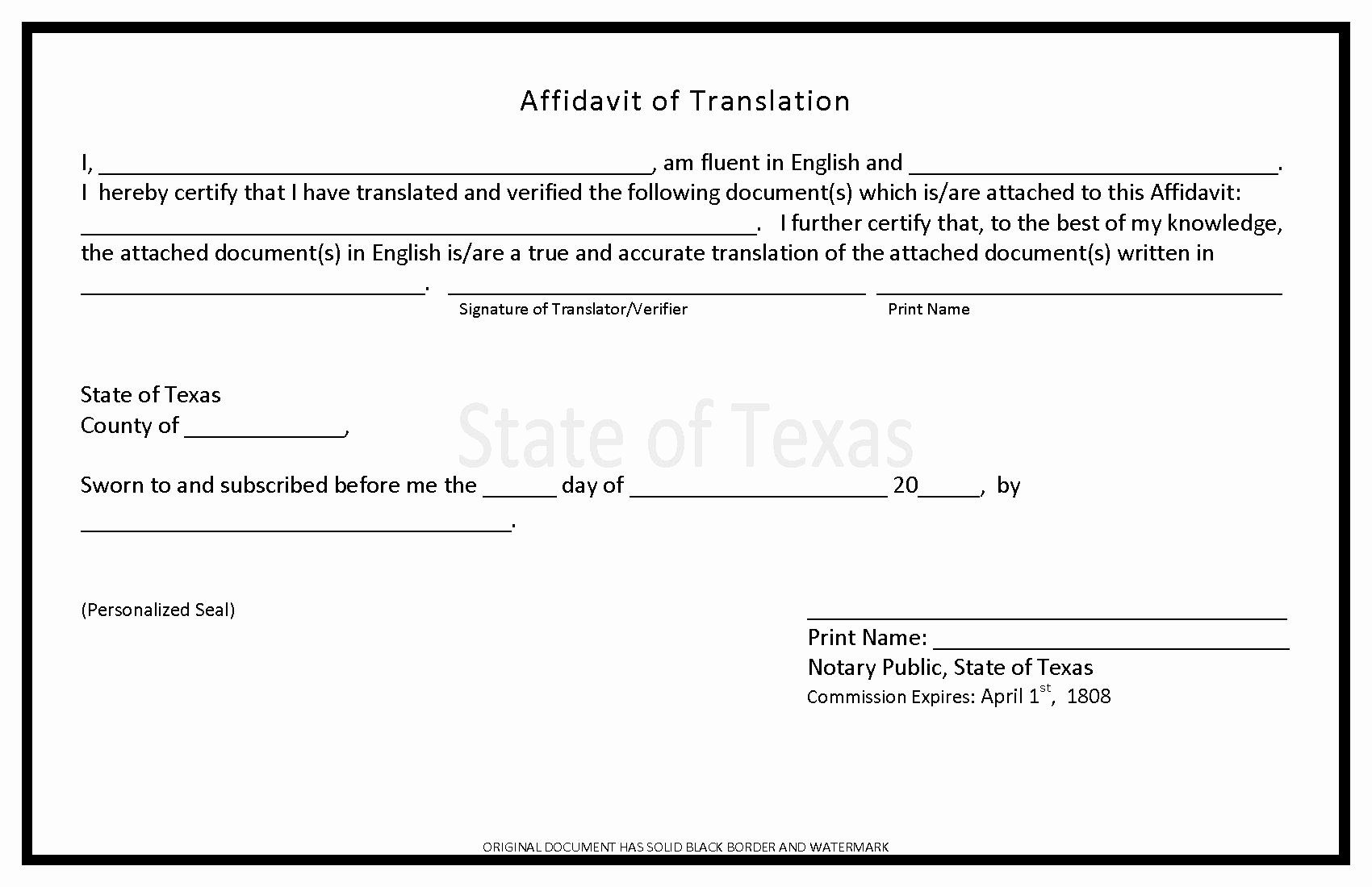 Notary Public Signature Line Template Luxury Texas Notary Letter Template