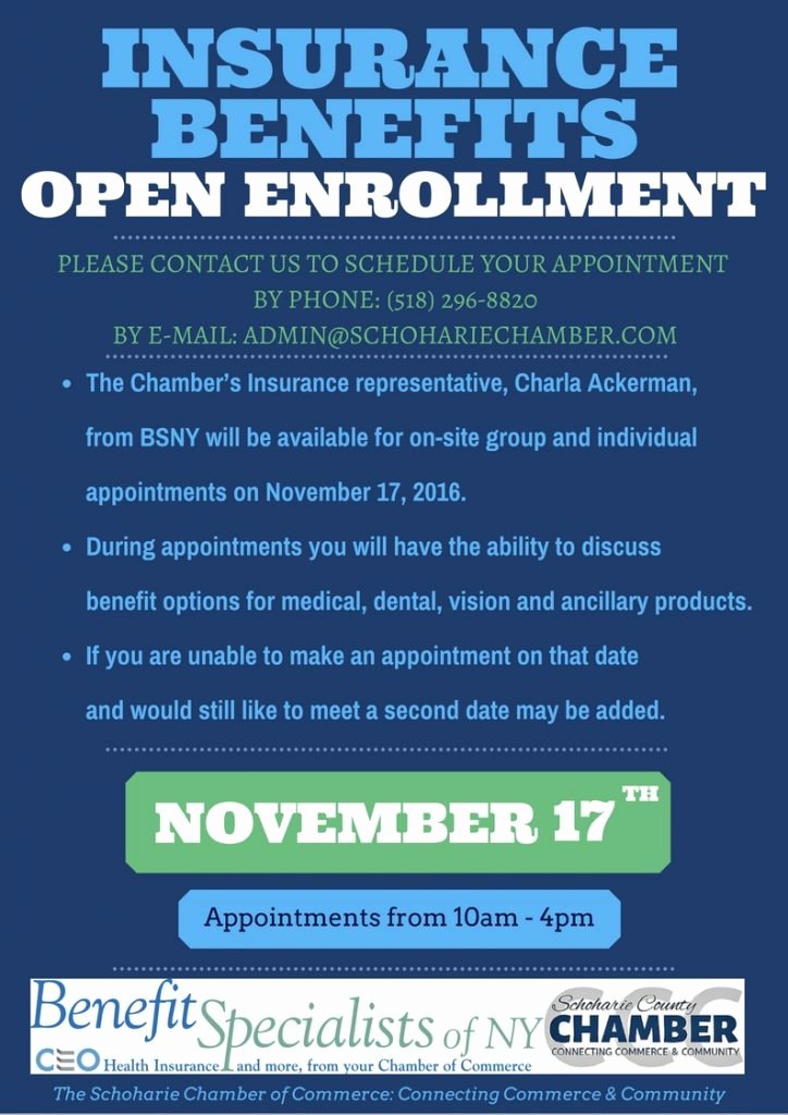 sample open enrollment posters 1204