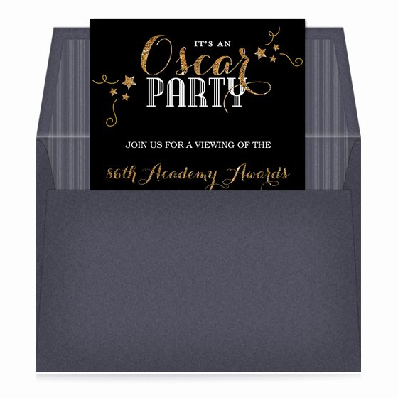 Oscar Invitation Templates New Oscar Night Invitations & Cards On Pingg