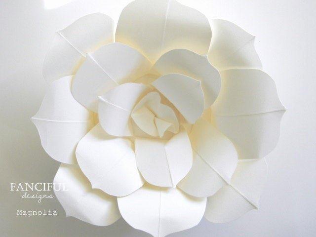 Paper Flower Template Martha Stewart Fresh Huge Paper Flowers Hand torn French Paper Flowers as Seen