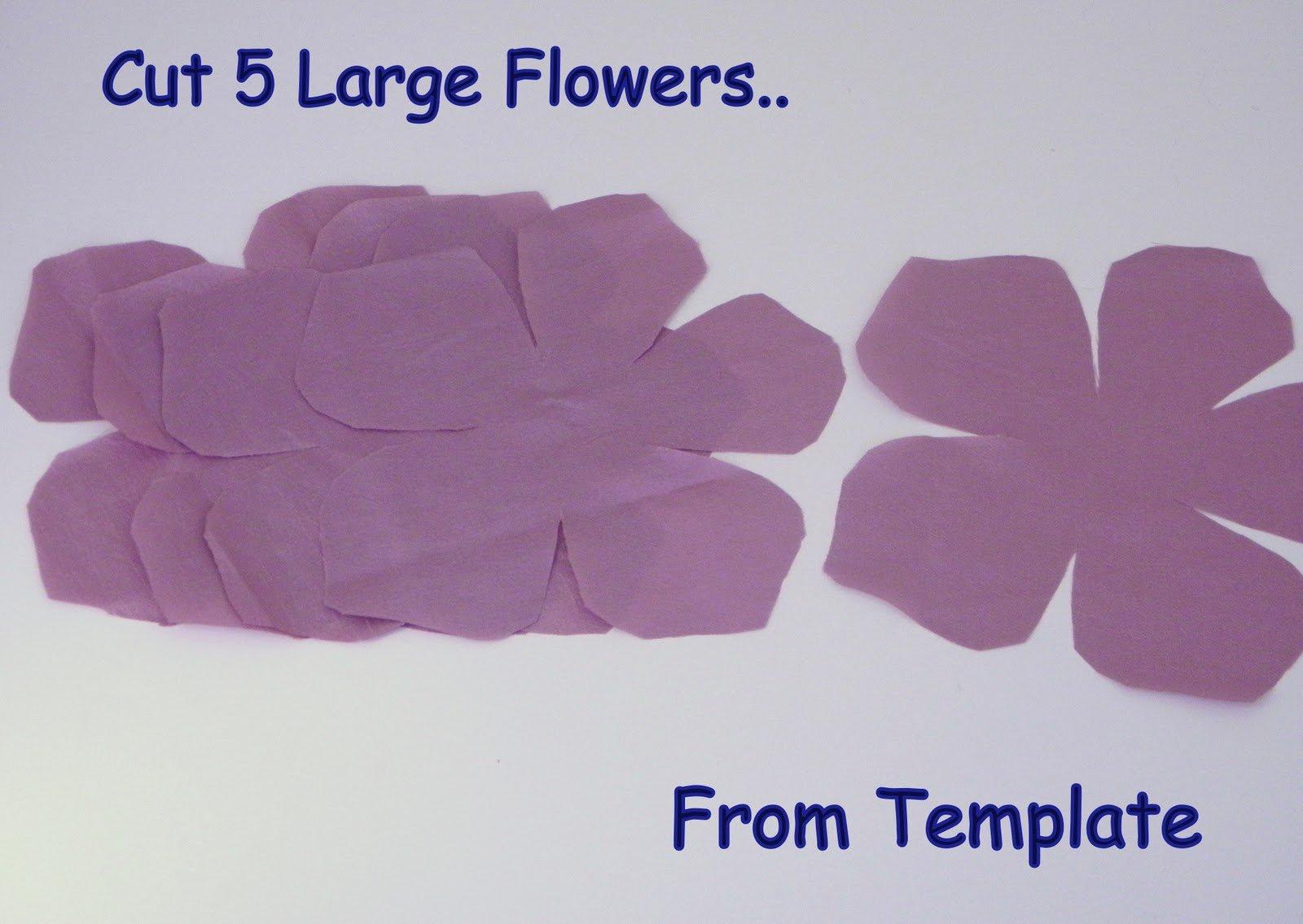 Paper Flower Template Martha Stewart Inspirational Ruby Mines Diy Tutorial Nina Ricci Inspired Flower Sash