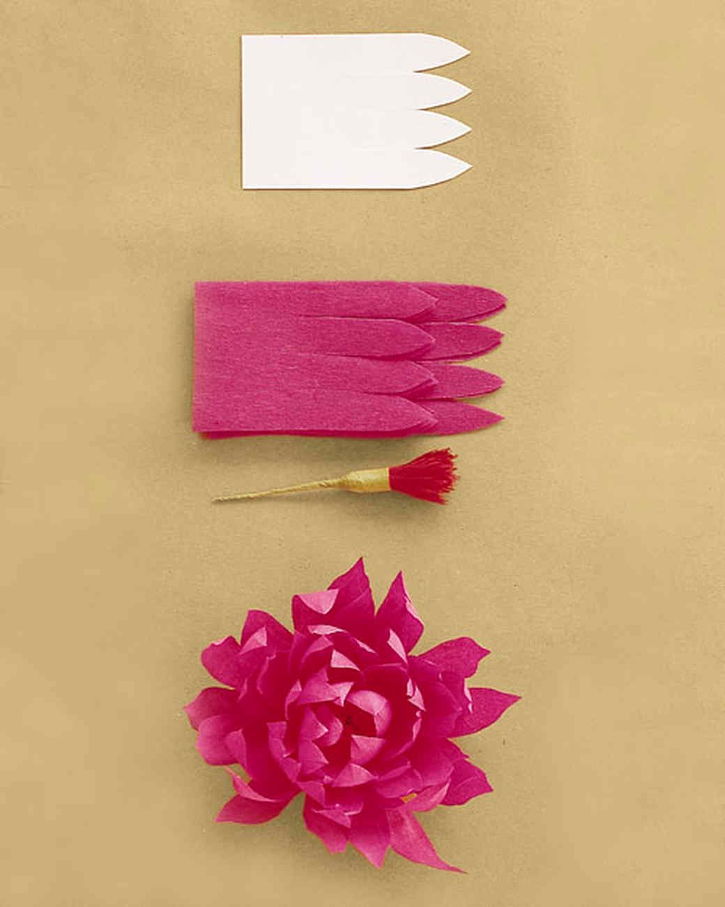 Paper Rose Template Martha Stewart Awesome How to Make Crepe Paper Flowers