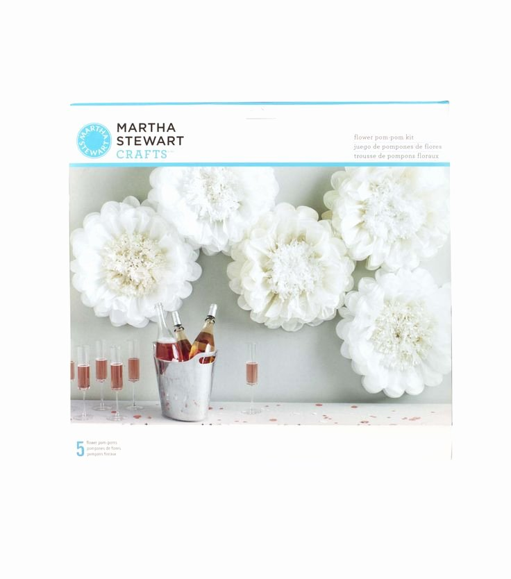Paper Rose Template Martha Stewart Beautiful Martha Stewart Tissue Paper Pom Pom Kit White Flower