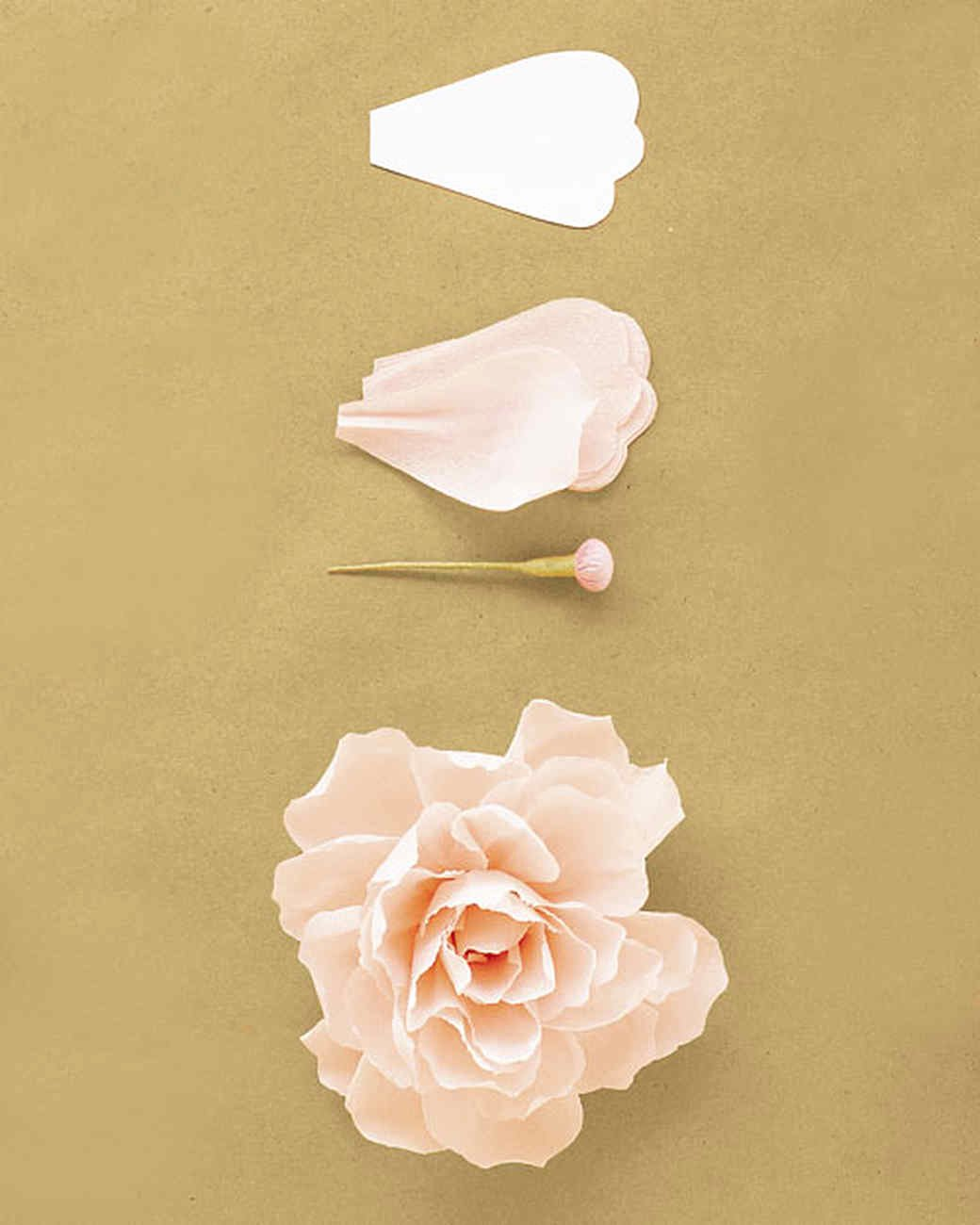 Paper Rose Template Martha Stewart Inspirational How to Make Crepe Paper Flowers