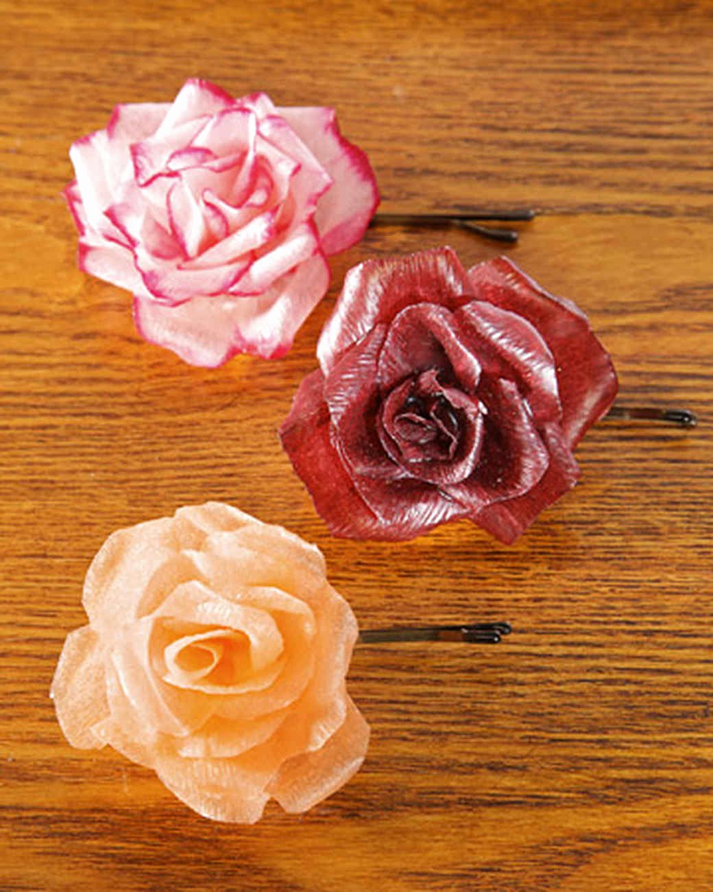 Paper Rose Template Martha Stewart New Tissue and Crepe Paper Crafts
