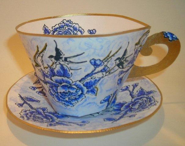 Paper Tea Cup Template Unique Tlady Designs More Elegant Paper Tea Cups