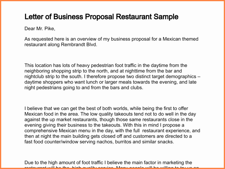 Partnership Letter Sample Awesome 5 Business Partnership Proposal Template