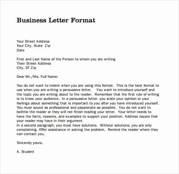 Partnership Letter Sample Best Of Sample Professional Business Letter 6 Documents In Pdf