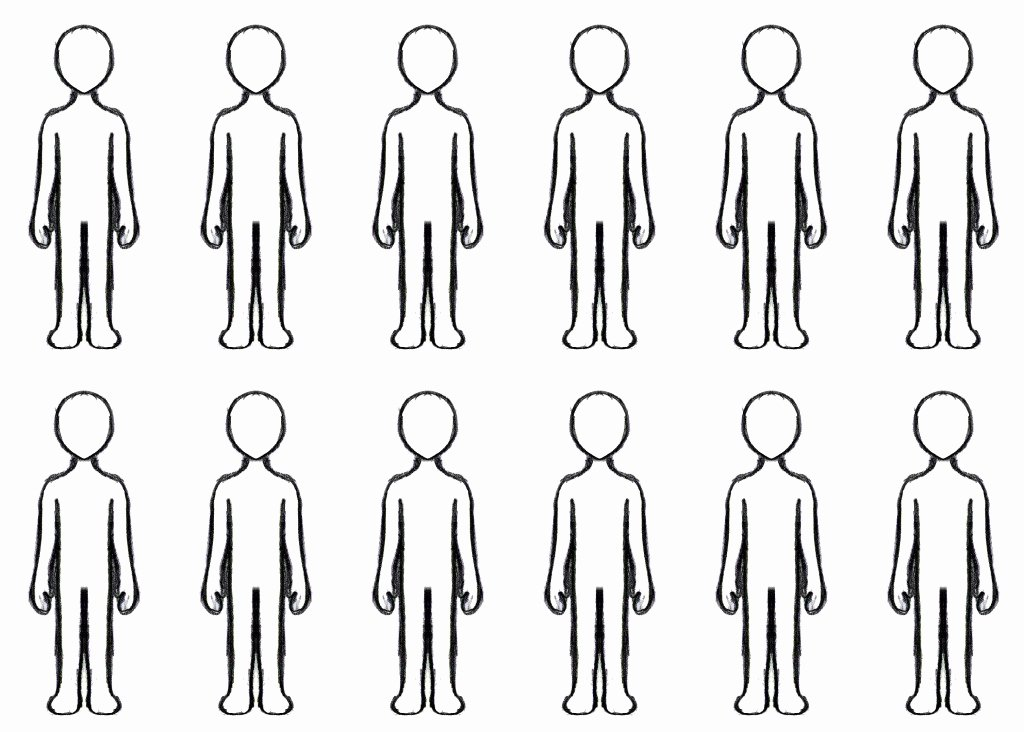 Patient Face Sheet Template Luxury Free Blank Person Template Download Free Clip Art Free