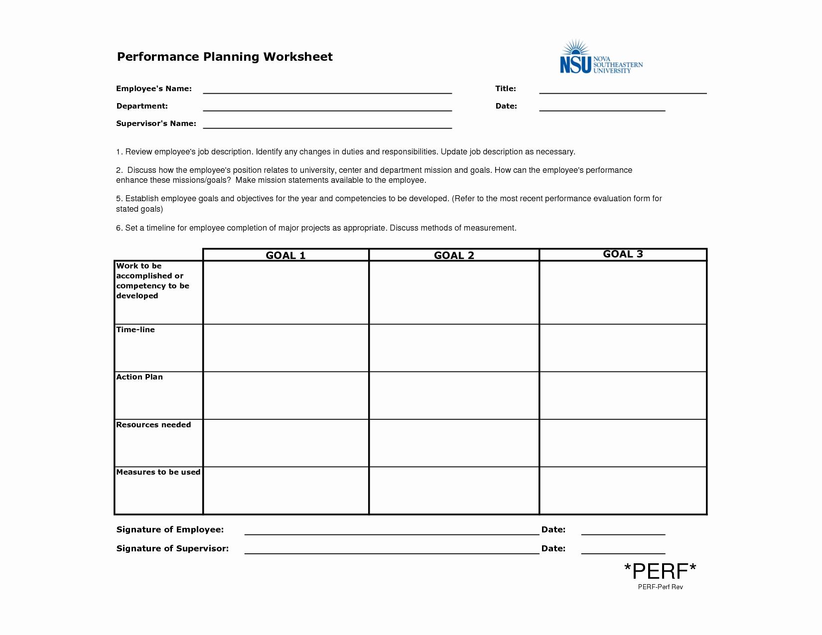 post employee work plan template