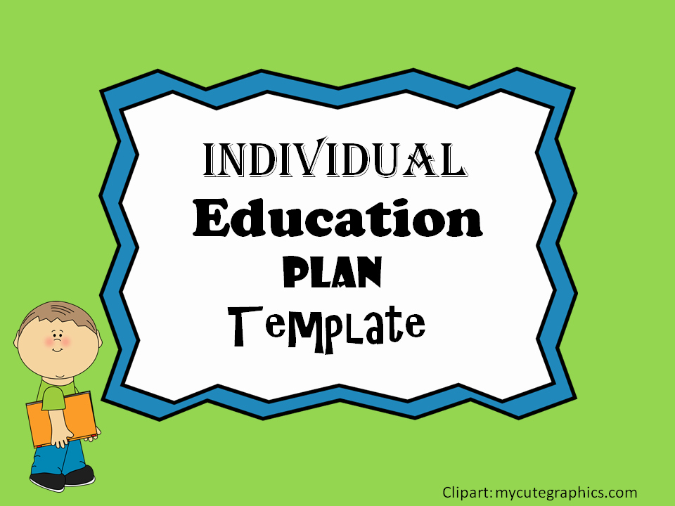 Personal Learning Plan Template Best Of Individual Education Plan Iep Template – Mash