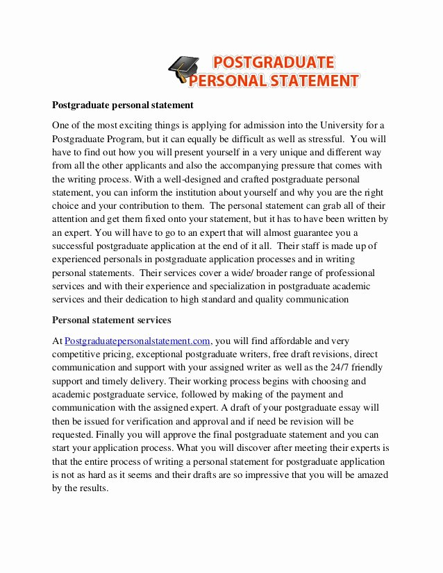 masters degree personal statement examples 2692
