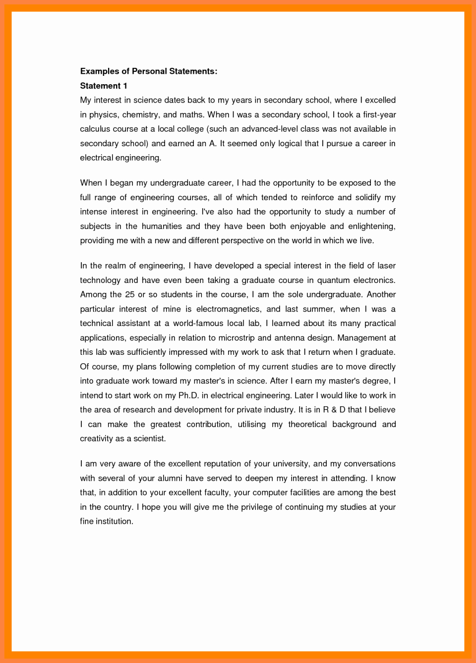 Personal Statement Of Faith Template Lovely Personal Statement Faith Examples Presbyterian Page 53