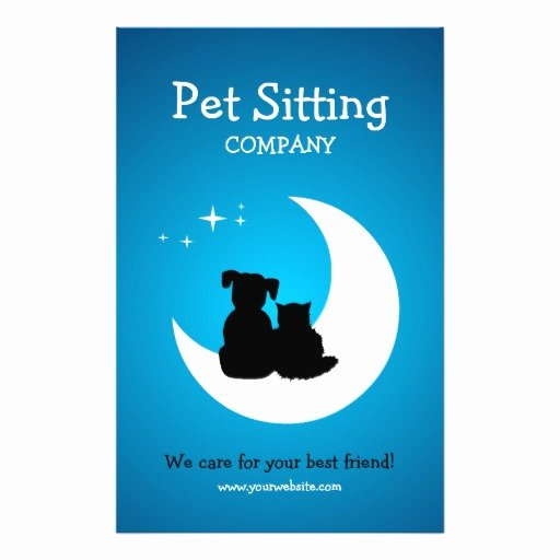Pet Sitting Flyer Template New Pet Care Pet Sitting Business Flyer