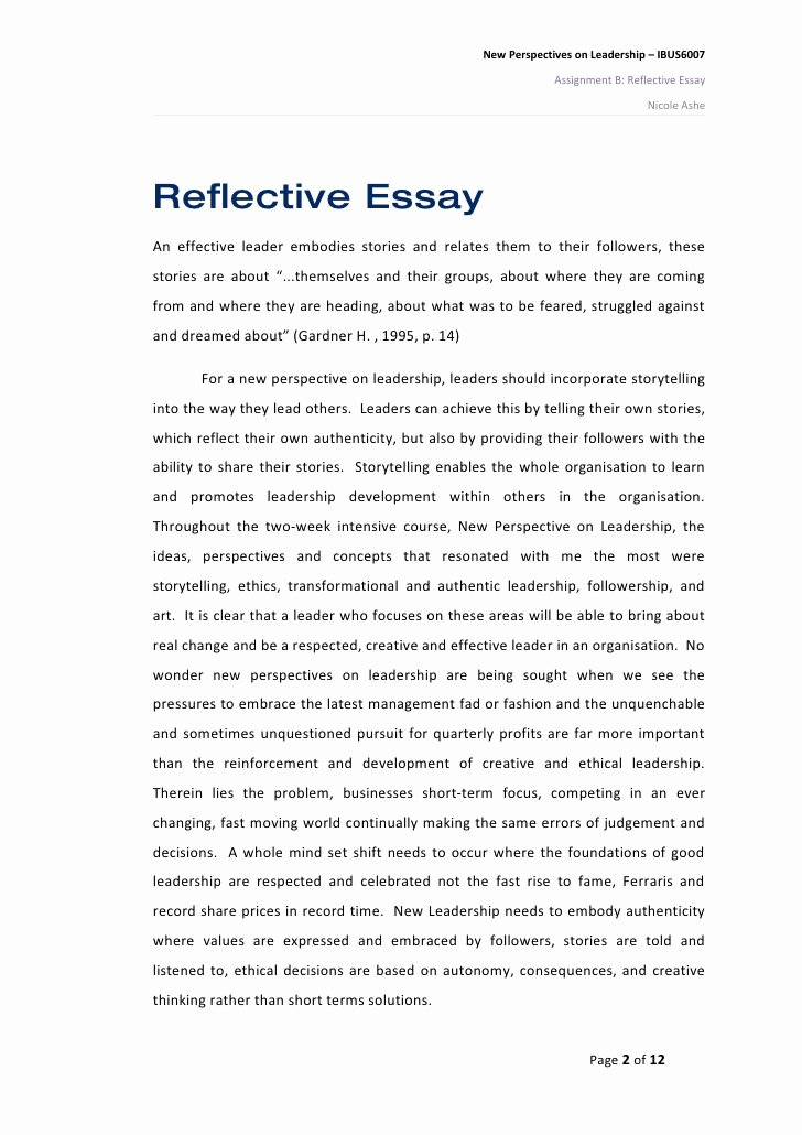 Philosophy Of Success Essay Awesome Good Personal Reflective Essay