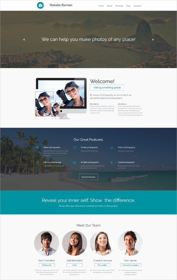 Photo Gallery Template HTML5 Inspirational 30 Best Parallax HTML5 Templates