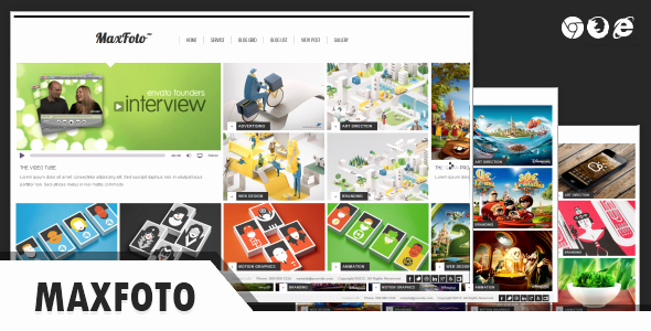Photo Gallery Template HTML5 Inspirational Maxfoto Clean Gallery HTML5 Template by Thana
