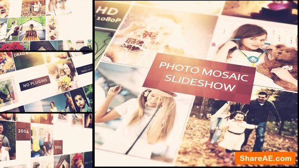 Photo Mosaic after Effects Fresh Videohive Mosaic Slideshow Free after Effects