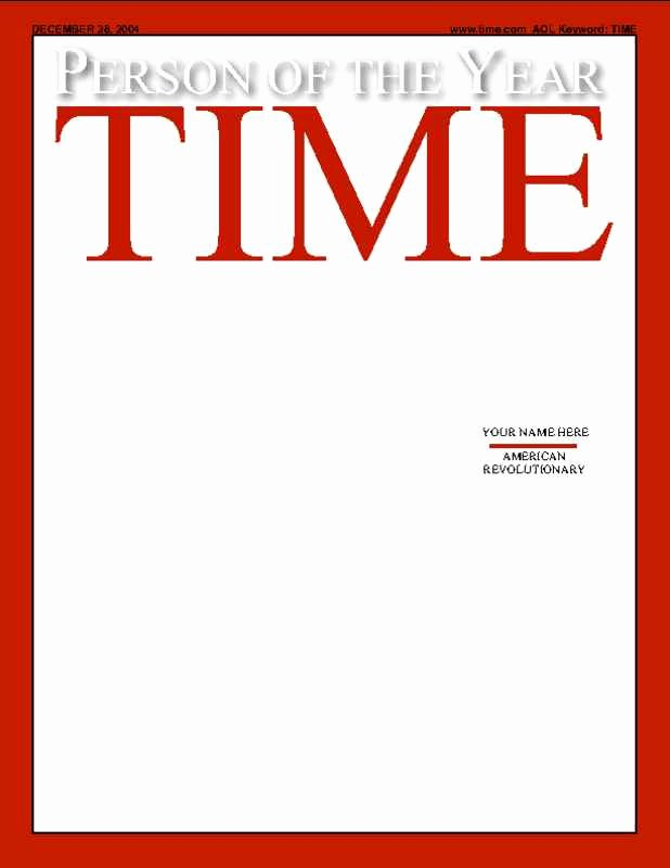 Photoshop Magazine Cover Template Best Of Time Magazine Template