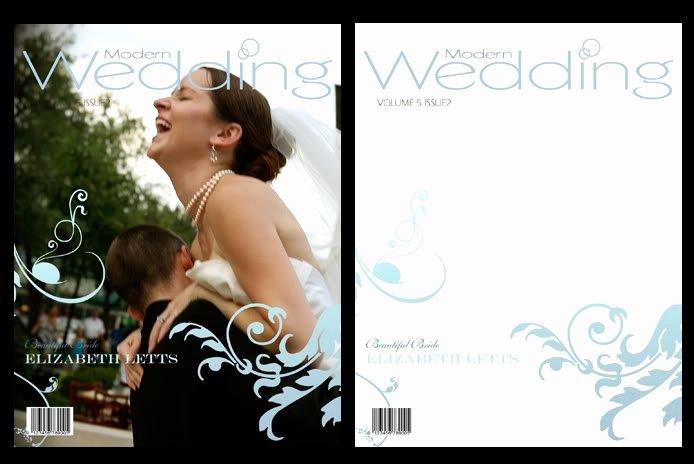 Photoshop Magazine Cover Template Elegant Wedding Magazine Frame Cover Shop Templates Psd V3