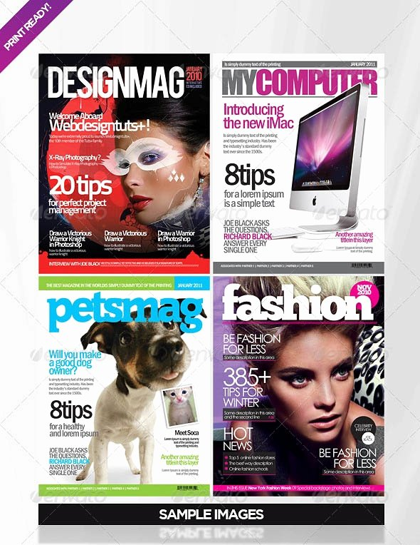 Photoshop Magazine Cover Template Inspirational 110 Best Exemples Indesign Images On Pinterest