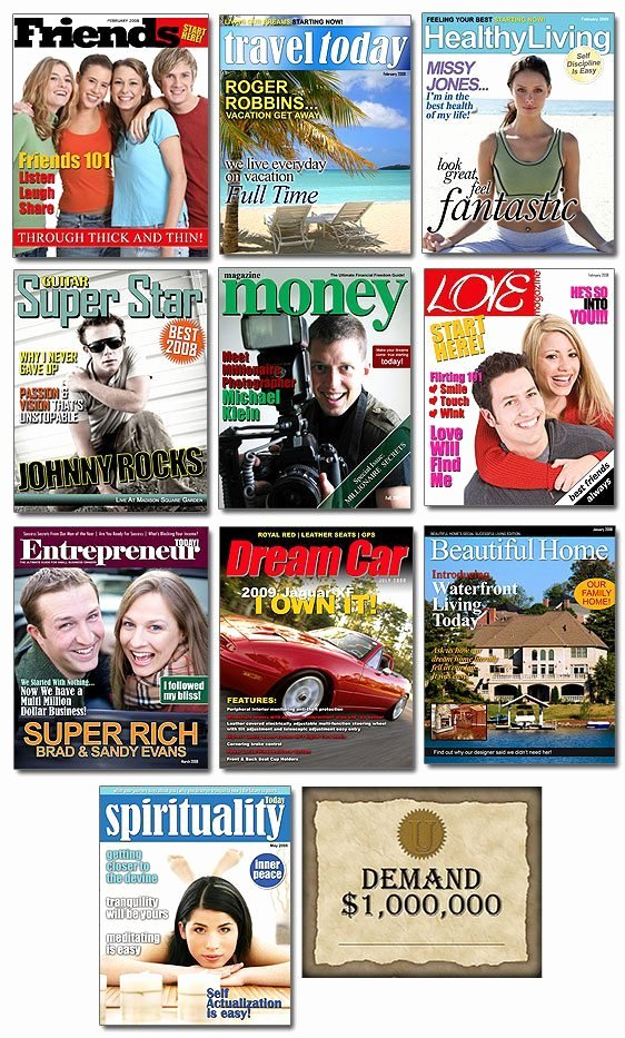 Photoshop Magazine Cover Template Inspirational Shop Magazine Cover Templates Vol 4