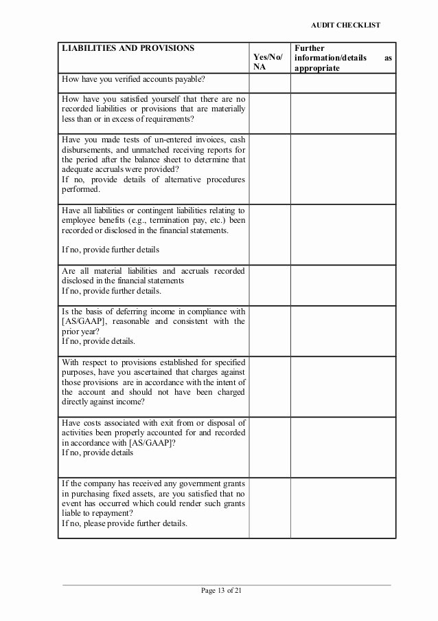Physical Security Audit Checklist Best Of Security Audit Information Security Audit Checklist