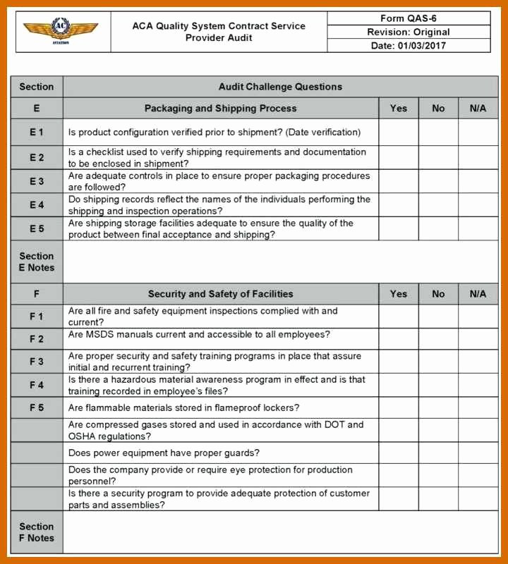 Physical Security Audit Checklist Elegant 9 10 Security Audit Template
