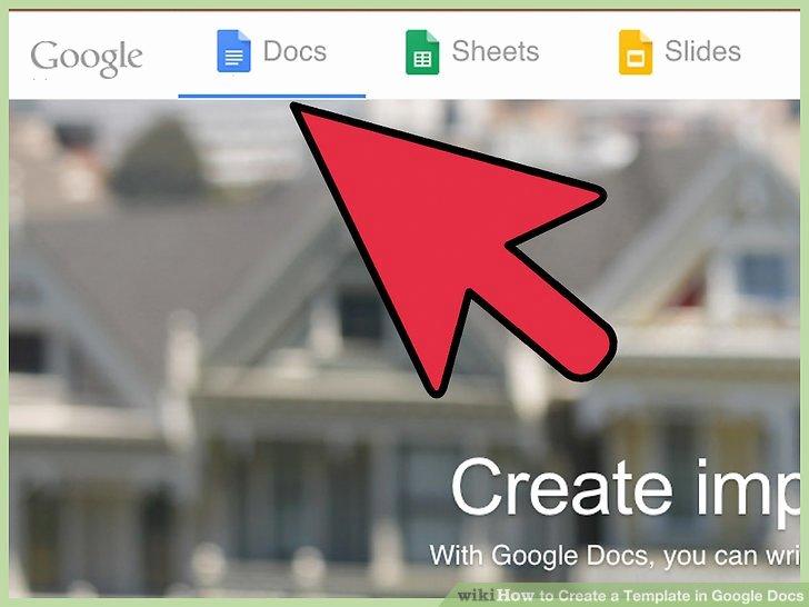 Create a Template in Google Docs