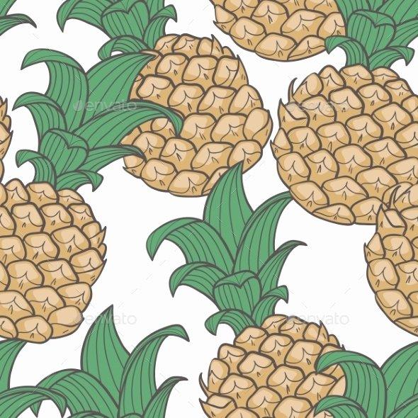 pineapple leaf pattern