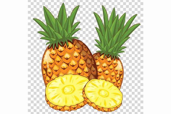 Pineapple Leaves Template Inspirational Pineapple Leaf Template Designtube Creative Design Content