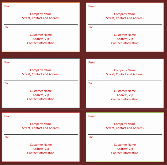 Place Card Template 6 Per Sheet Awesome Label Template 6 Per Sheet
