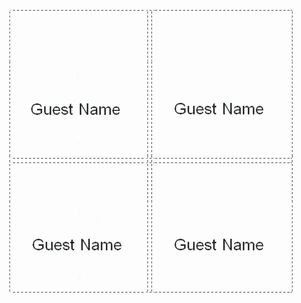 Place Card Template 6 Per Sheet Beautiful Table Layout Generator S Table and Pillow