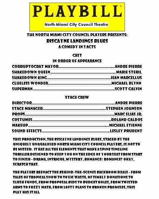 Playbill Cover Template Inspirational Playbill – Votersopinion