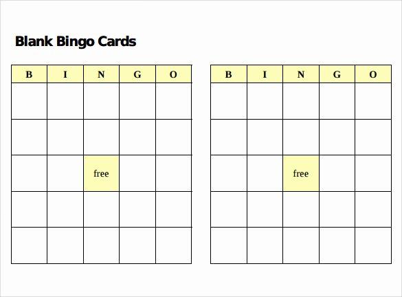 Playing Card Template Word Luxury Sample Bingo Card 11 Documents In Pdf Word